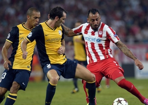 Club Atletico de Madrid  - Olympiacos FC (Football. UEFA Champions League)